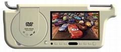 "7"" Sunvisor CAR DVD TFT LCD Monitor"