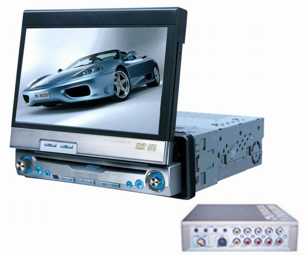 7 Inch In Dash Touch Screen Tft Lcd Car Dvd Av F7550d
