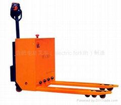 ELECTRIC PALLET TRUCK (Electric traveling,hydraulic lifting)
