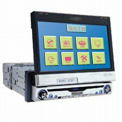 all in one Car DVD with Touch Screen/FM