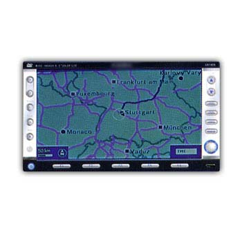 2 din All In One Car DVD video built in GPS Navigation 1