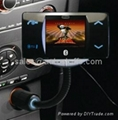 Bluetooth Car Kit with Mp4 Player
