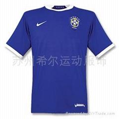 足球運動服飾-巴西國家隊客場