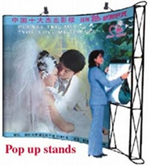 pop up stand/flying banner/sway dancing