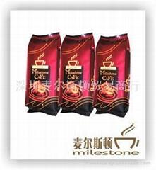 深圳咖啡豆批发 新鲜烘焙咖啡豆 milestone cafe