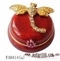 供應歐美金屬珠寶盒,首飾盒,裝飾盒,工藝品