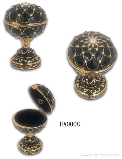 Faber egg jewelery box,music trinket box,craft,gift 1