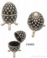 Faber egg jewelery box,music trinket box,craft,gift 4