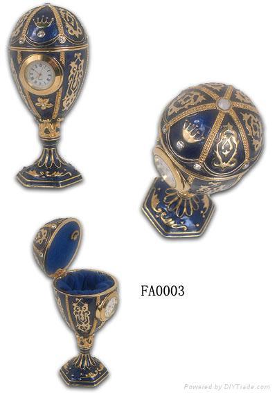 Faber egg jewelery box,music trinket box,craft,gift 2
