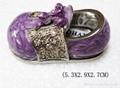 shoes jewelery box,trinket box,craft,gift 2