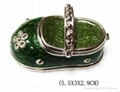 shoes jewelery box,trinket box,craft,gift 3
