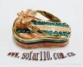 shoes jewelery box,trinket box,craft,gift 5
