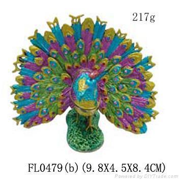 Peacock jewelery box,jewelery case,trinket box 3