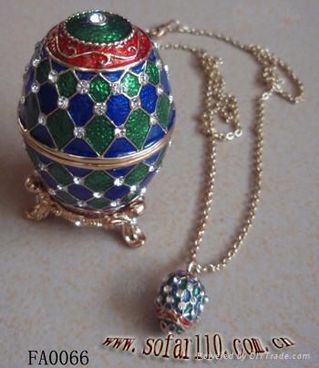 Faber egg jewelery box,trinket box,craft,gift 1