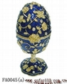 Faber egg jewelery box,trinket box,craft,gift 2