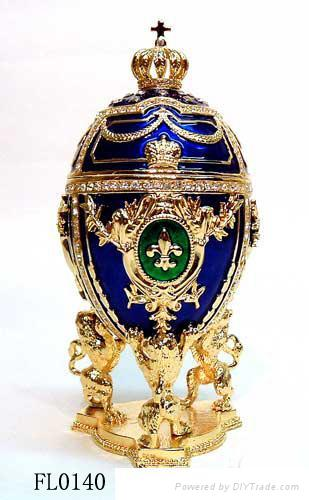 Faber egg jewelery box,trinket box,craft,gift 4