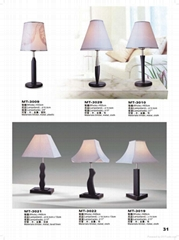 table lamp, floor lamp