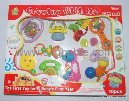 10pcs Baby Rattle set 1