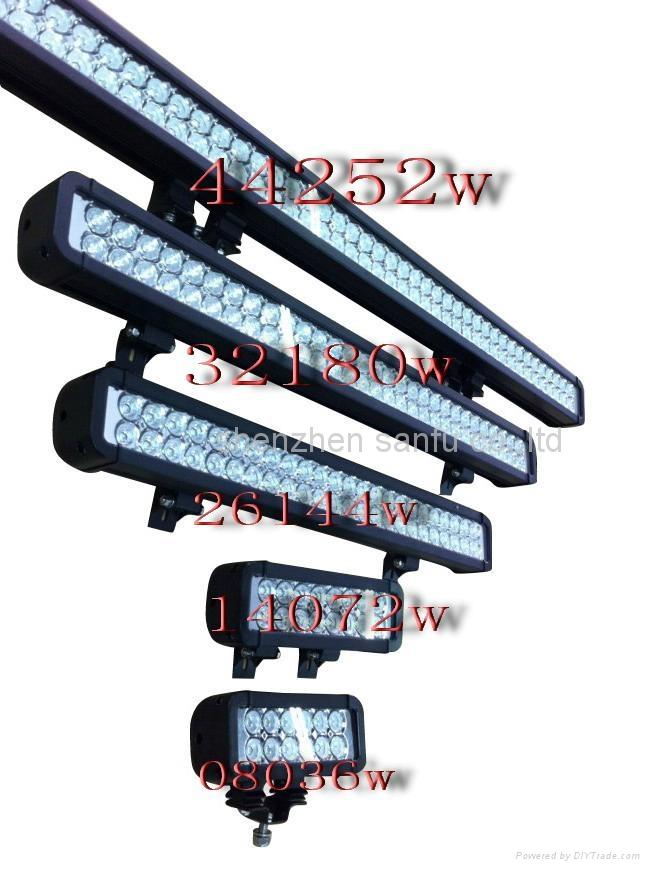 4x4 led off road light bar 36 72 120 144 108 180 240 252w. Black Bedroom Furniture Sets. Home Design Ideas