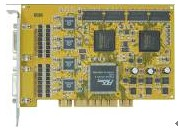 16chs hardware compression DVR card