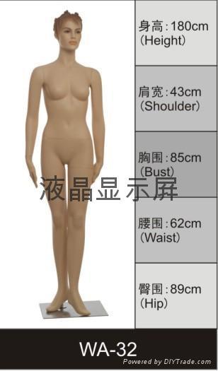 深圳運動服裝陳列模特儿 2