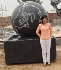 噴泉彫塑花盆風水球羅馬柱欄板涼亭牌樓