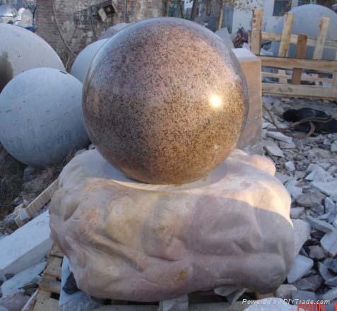 喷泉雕塑花盆风水球罗马柱栏板凉亭牌楼 5