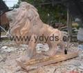石雕大象 2