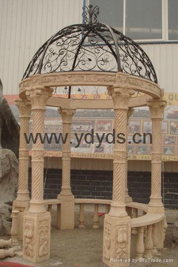 凉亭石柱罗马柱 1