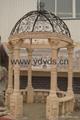 凉亭石柱罗马柱