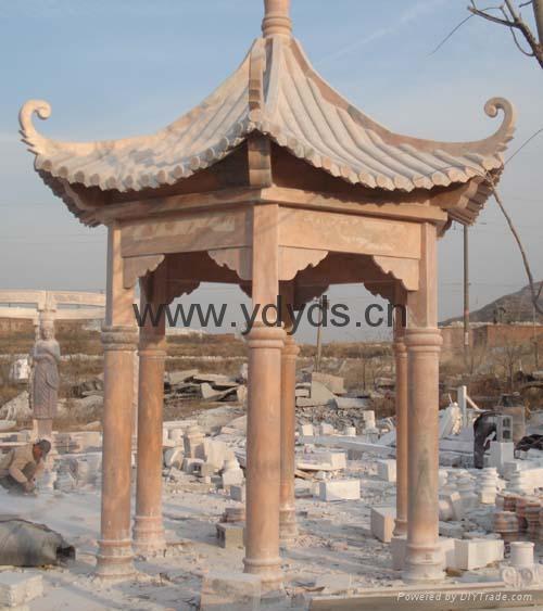 凉亭石柱罗马柱 2