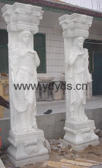 凉亭石柱罗马柱 3