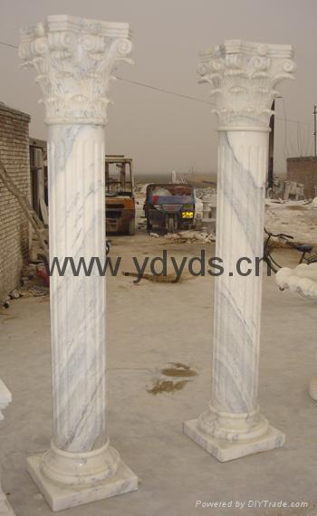 凉亭石柱罗马柱 4