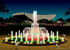 噴泉音樂噴泉