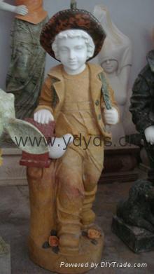 东西方人物雕塑 2