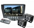 7寸双摄像头卡车后视系统