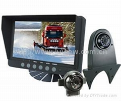 "7"" monitor LCD with car camera for heavy duty"