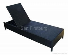 Rattan Outdoor Furniture - Chaise Lounge
