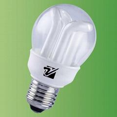 2L-shape energy saving lamps
