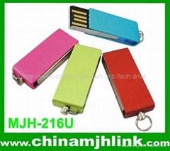 Popular 2GB 4GB plastic push-pull mini usb flash drive stick memory key disk