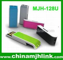 Popular 8gb 16gb plastic push-pull usb flash drive stick memory key disk