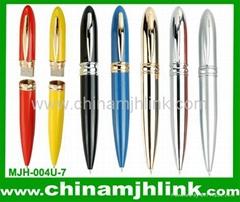 Popular 1gb 2gb metal pen usb flash drive stick memory key disk