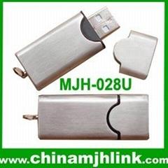 Hot 1gb 2gb metal usb flash drive stick memory key disk