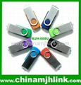 Fashion hot 16gb 32gb metal twist usb flash drive stick memory key disk