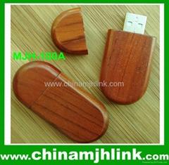 Hot 2gb 4gb wood usb flash drive stick memory key disk