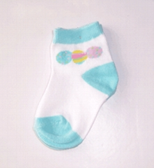 babies plain socks