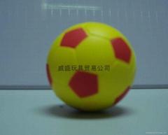 pu玩具足球