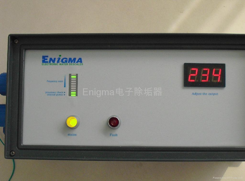 繞線式電子除垢器 1
