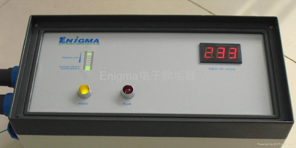 繞線式電子除垢器 2