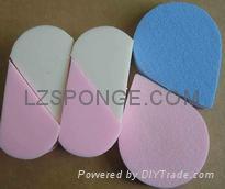 cosmetic powder puff